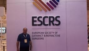 Участие в ежегодном конгрессе ESCRS Lisabon 2017