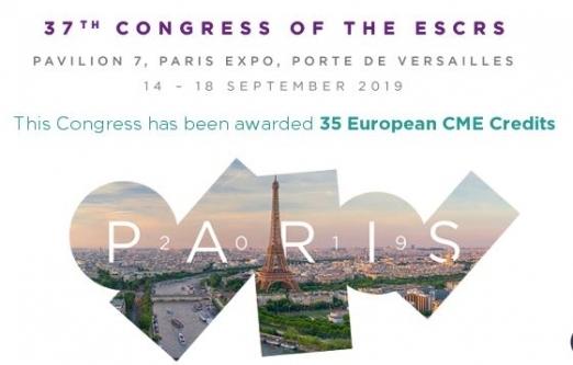 37-й Конгресс Европейского общества катарактальной и рефракционной хирургии (ESCRS)